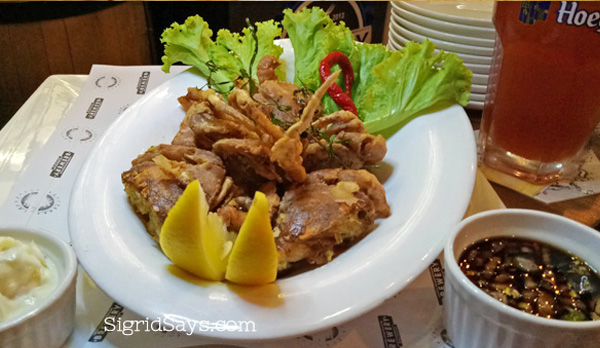 Bacolod restaurants - Where to eat in Bacolod - Brewery Gastropub Bacolod - Bacolod restaurants - List of Bacolod restaurants - Where to eat in Bacolod - Bacolod eats - Bacolod blogger
