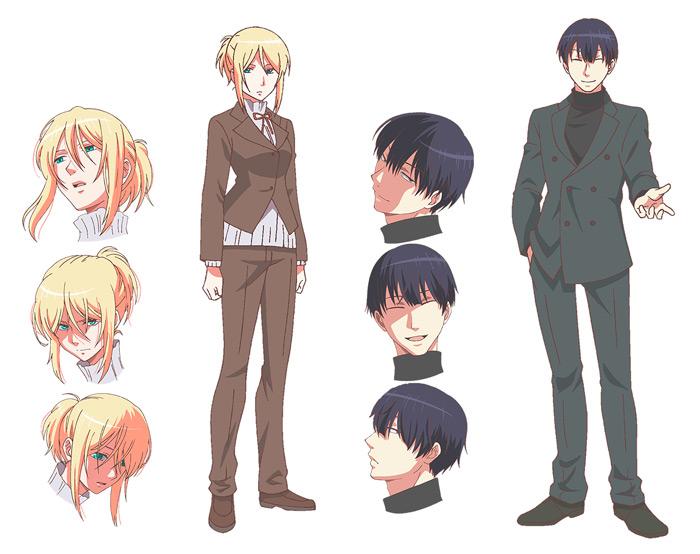 Love of Kill (Koroshi Ai) anime - personajes