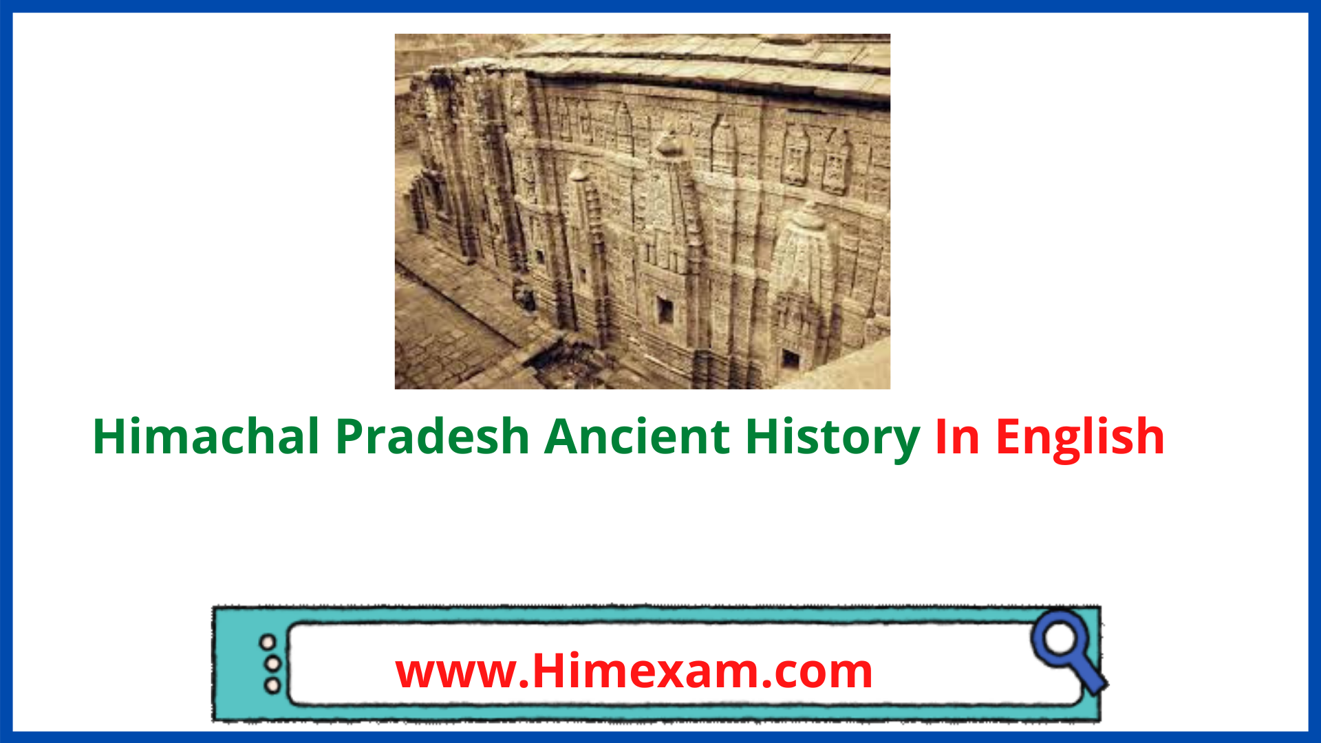 Himachal Pradesh Ancient History