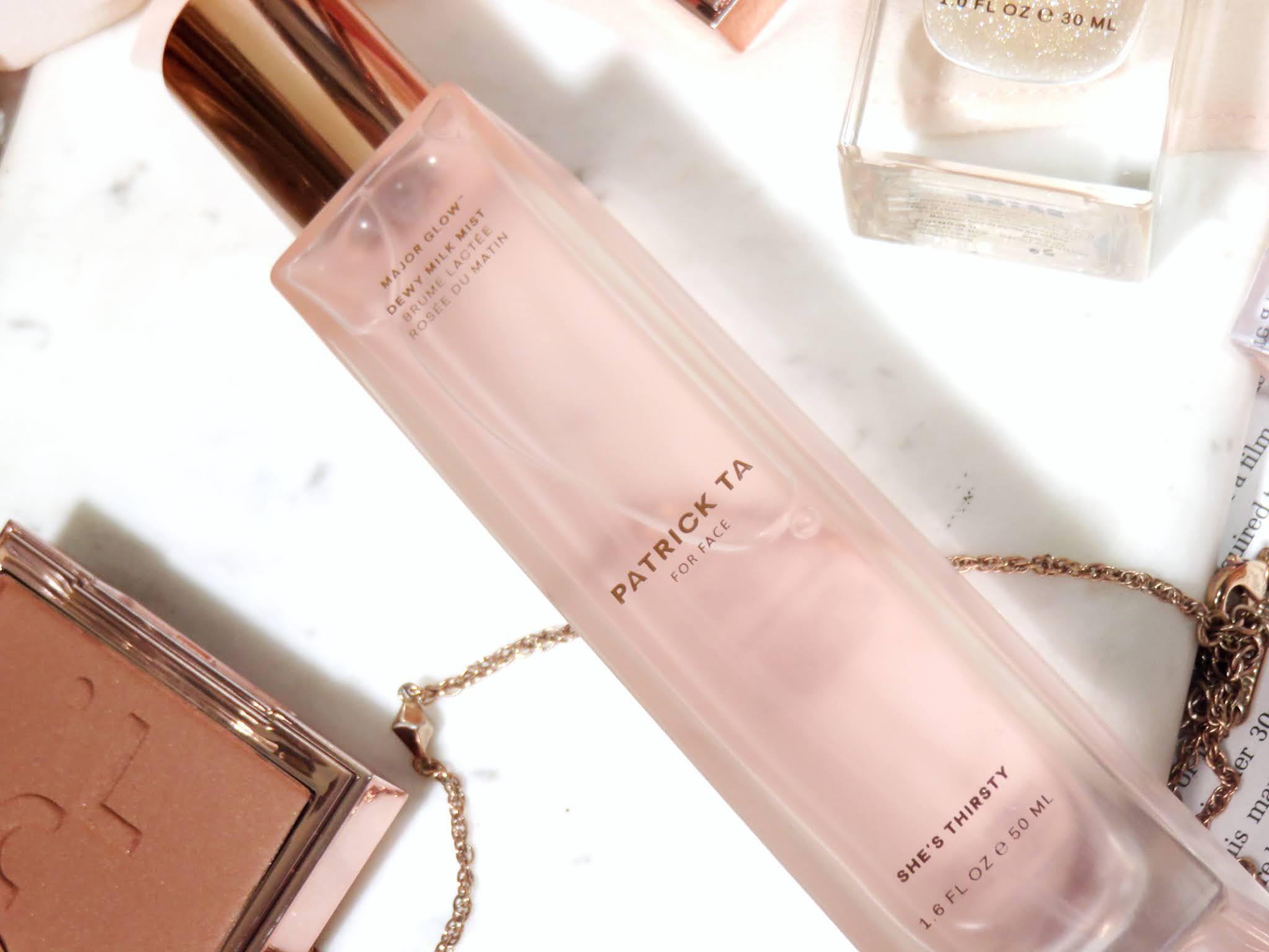 Patrick Ta Major Glow Dewy Milk Mist Review
