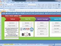 ALPEKA Aplikasi Laporan Pertanggungjawaban Keuangan Dana BOS 2018