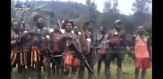 Konflik Bersenjata di Wilayah Ndugama Membumi haguskan di Hutan Ndugama Papua.