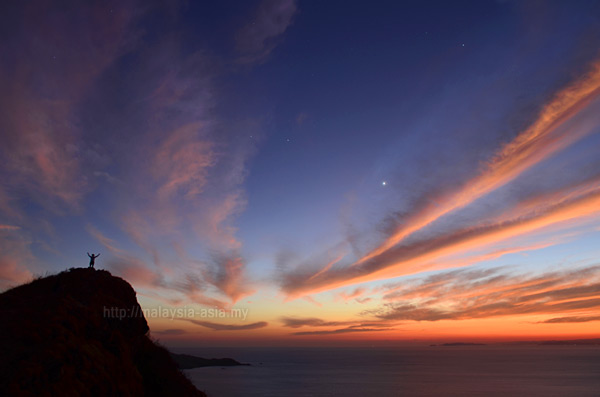 Sunrise at Komodo Island