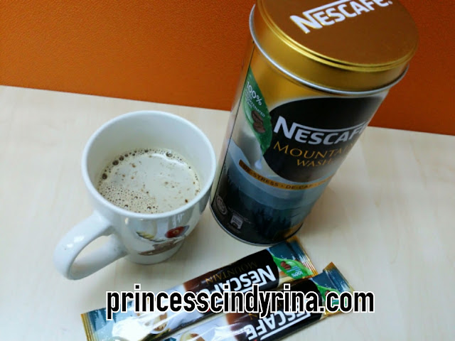 Nescafe in a cup