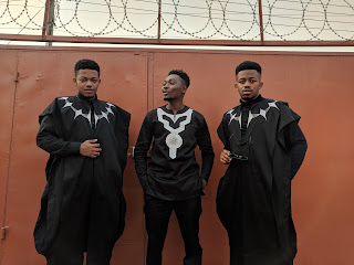 Young African across the world heading to watch Marvel's Black Panther movie
