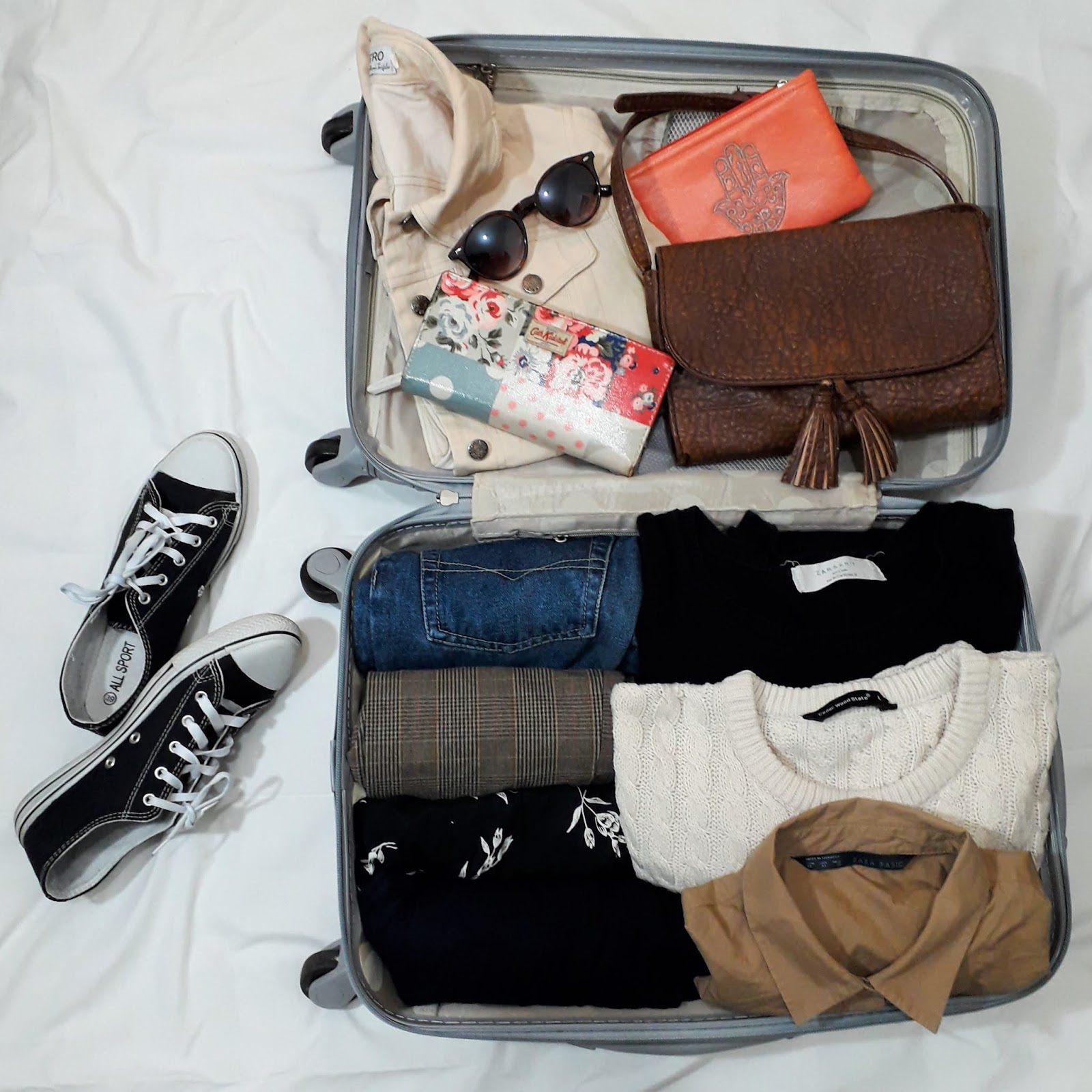pack with me - packing