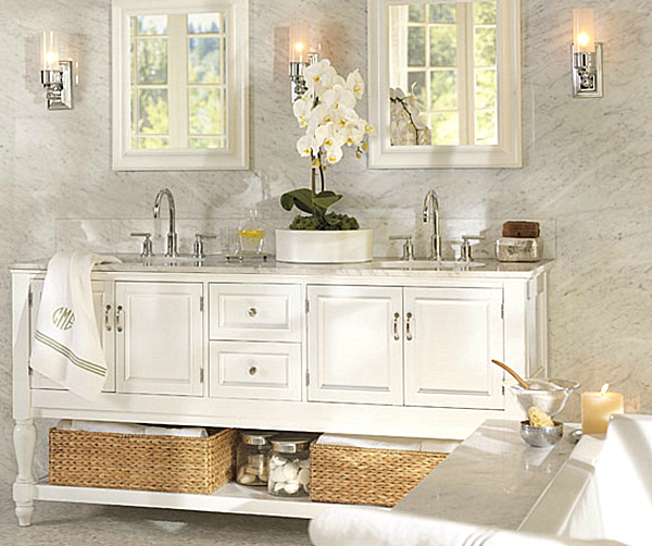 Marble Bathrooms Photos: Elegant Remodels/ Renovations Bathroom