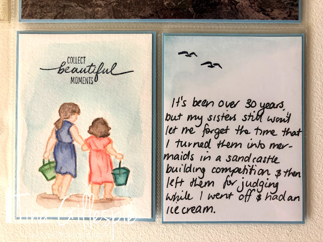 scissorspapercard, Stampin' Up!, Sydney OnStage Presentation, Beautiful Moments, Scrapbooking, Watercolouring