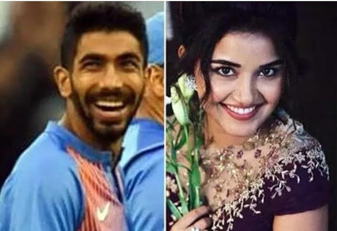 इस एक्ट्रेस को डेट कर रहे हैं स्टार क्रिकेटर जसप्रीत बुमराह ?