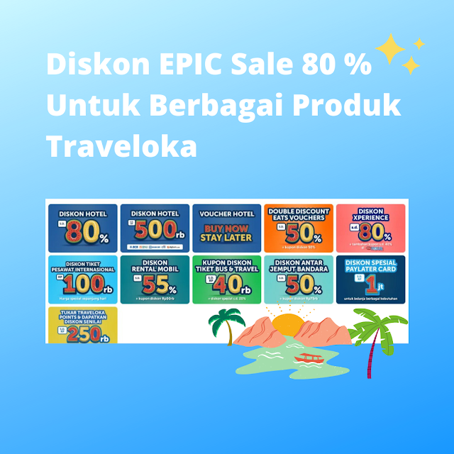 Diskon Travel Fair Traveloka