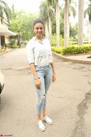 Rakul Preet Singh in Jeans and White Shirt At Jaya Janaki Nayaka le Logo Launch ~  Exclusive 075.JPG