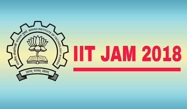IIT-JAM-2018-Notification