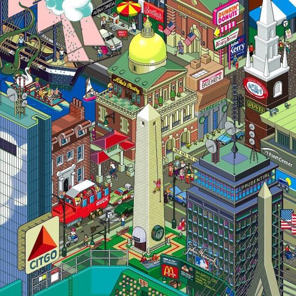 Interesting Examples of Pixel Art-2