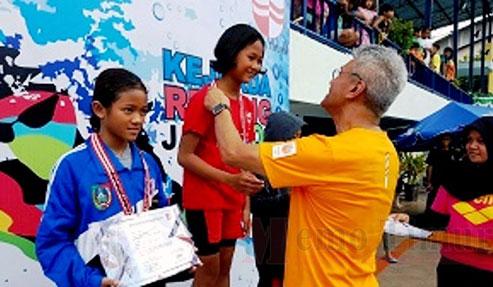 Atlet renang dari Lumajang yang meraih juara di Kejurda