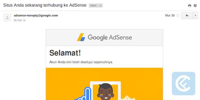 Pengalaman Diterima AdSense