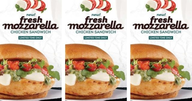 Fresh mozzarella comes to wendy 39 s in new chicken sandwich for Wendy s fish sandwich