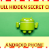 Top Secret Codes of Android Phone