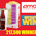 AMC Theatres Instant Win Giveaway - 217,500 Winners Win a Free Movie Ticket, Free Large Popcorn or Large Drink!! Daily Entry, Ends 5/12/20