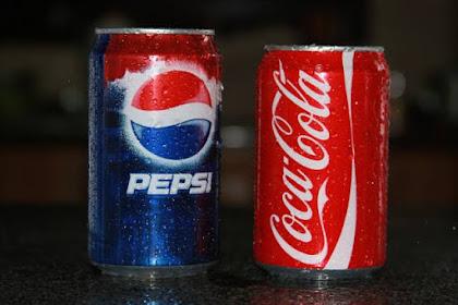 perbedaan Coca Cola dengan Pepsi