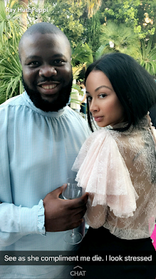 Hushpuppi defies criticism as he wears blouse like top in Cannes (photos)