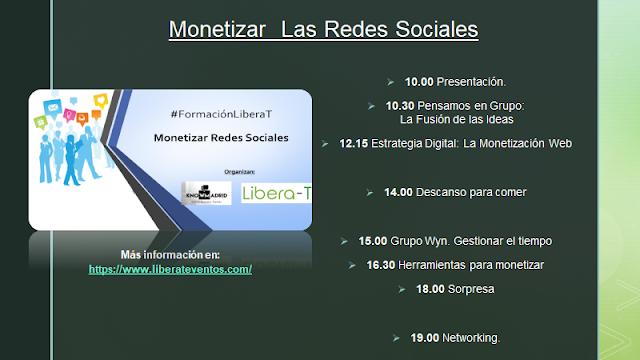 programa monetizar redes sociales