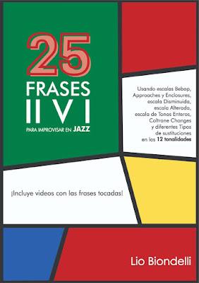 25 Frases II V I para Improvisar en Jazz