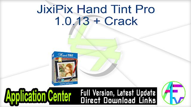 JixiPix Hand Tint Pro 1.0.13 + Crack