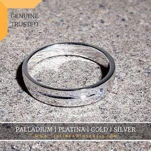 cincin kawin platina single 552
