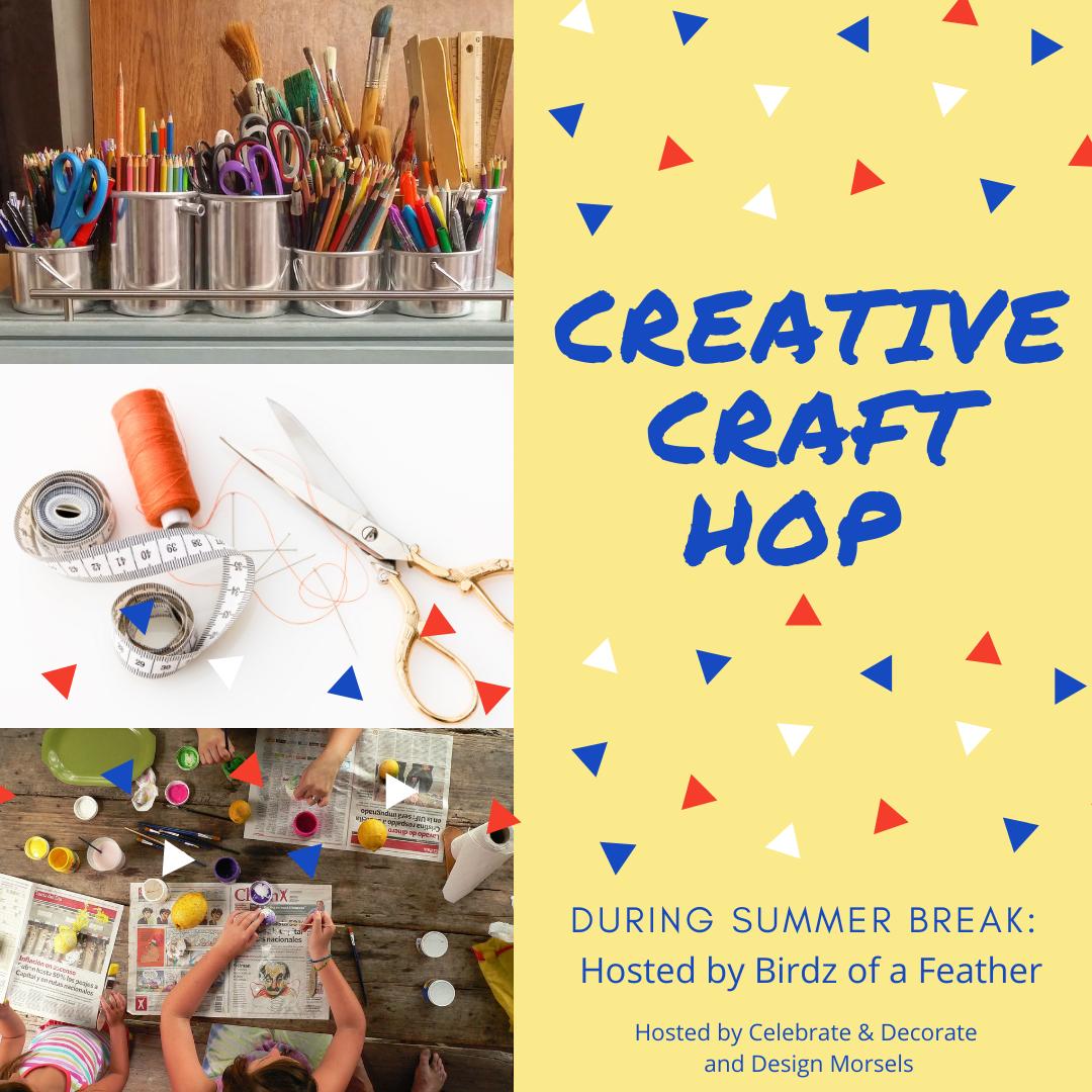 My Thrift Store Addiction Creative Crafts blog hop