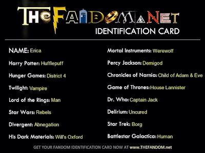 fandom identification card