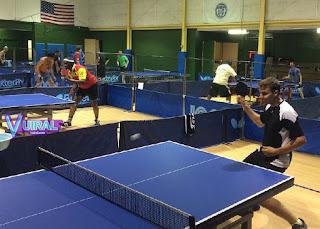Contoh Gambar Atau Foto Lapangan Tenis Meja Indoor