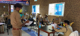 पुलिस अधीक्षक जालौन द्वारा सर्किल नगर के थाना प्रभारी/उपनिरीक्षक का निरीक्षण किया गया अर्दली रूम एवं त्वरित निस्तारण हेतु दिए गए कडे़ निर्देश                                                                                                                                                      संवाददाता, Journalist Anil Prabhakar.                                                                                               www.upviral24.in
