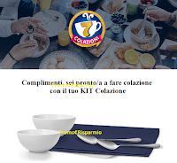 Logo Vinci anche tu i Kit Colazione,Tostapane o forniture Parmalat