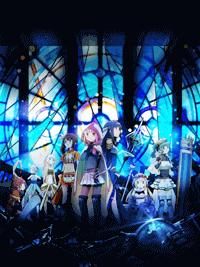 جميع حلقات الأنمي Magia Record مترجم