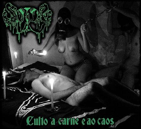 """Sade - """"Culto à Carne e ao Caos"""" (Fortaleza/CE) (Álbum) (Nacional - 2018) (Vários Selos)"""