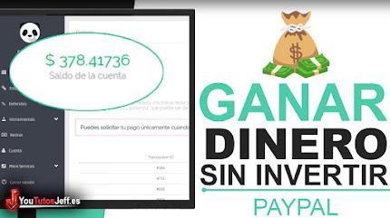 Ganar Dinero por Internet Sin Invertir + Comprobante de Pago