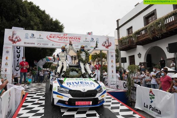 Miguel Suárez y Daniel Sosa se imponen en un apasionante Rally Senderos de La Palma