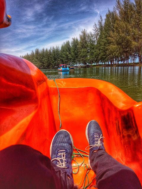 Perahu Bebek Desa Barangbang Tapanuli Tengah