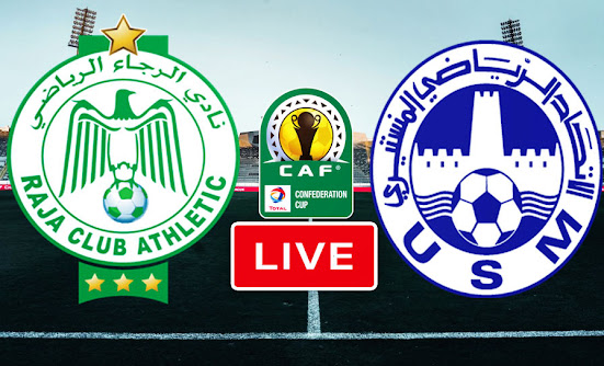 Match Raja Casablanca VS US Monastir Live Stream