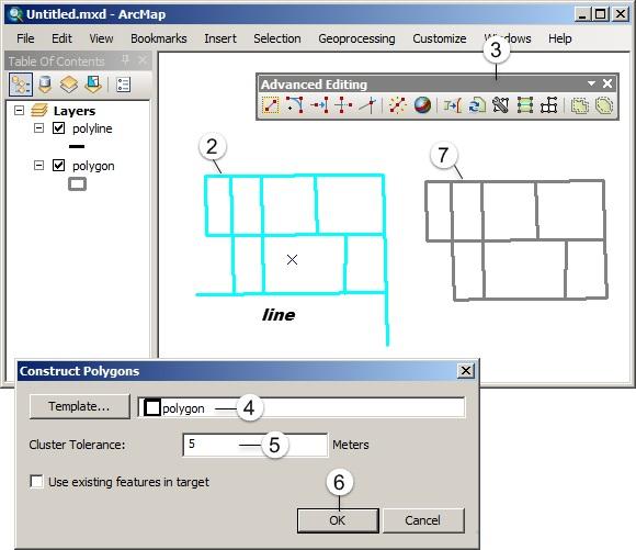 Editing Fitur pada ArcGIS (Tingkat Lanjut) - Construct polygon