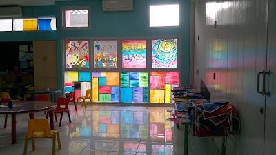 Art Class di SD Insan Cendekia Madani (dok. Pribadi)
