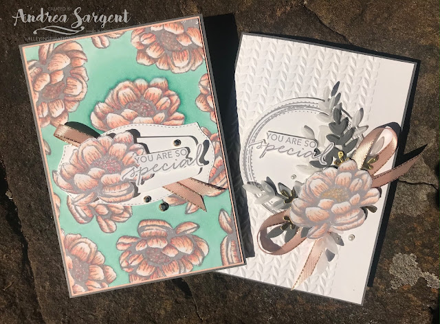 Tasteful Textures, Andrea Sargent, Stampin Up, Art With Heart, AWHT, Colour Creations, Creative Showcase, blog hop, Basic Gray, Tasteful Labels, Forever Flourishing