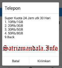 Paket Super Murah Kartu AS Telkomsel Akses *363#