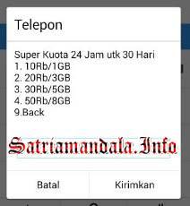 Paket Super Murah Kartu AS Telkomsel Akses *363#