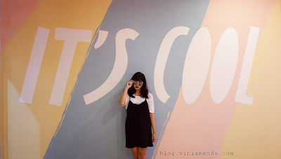 Berfoto di tempat indoor instagrammable, Ice Cream World Bali