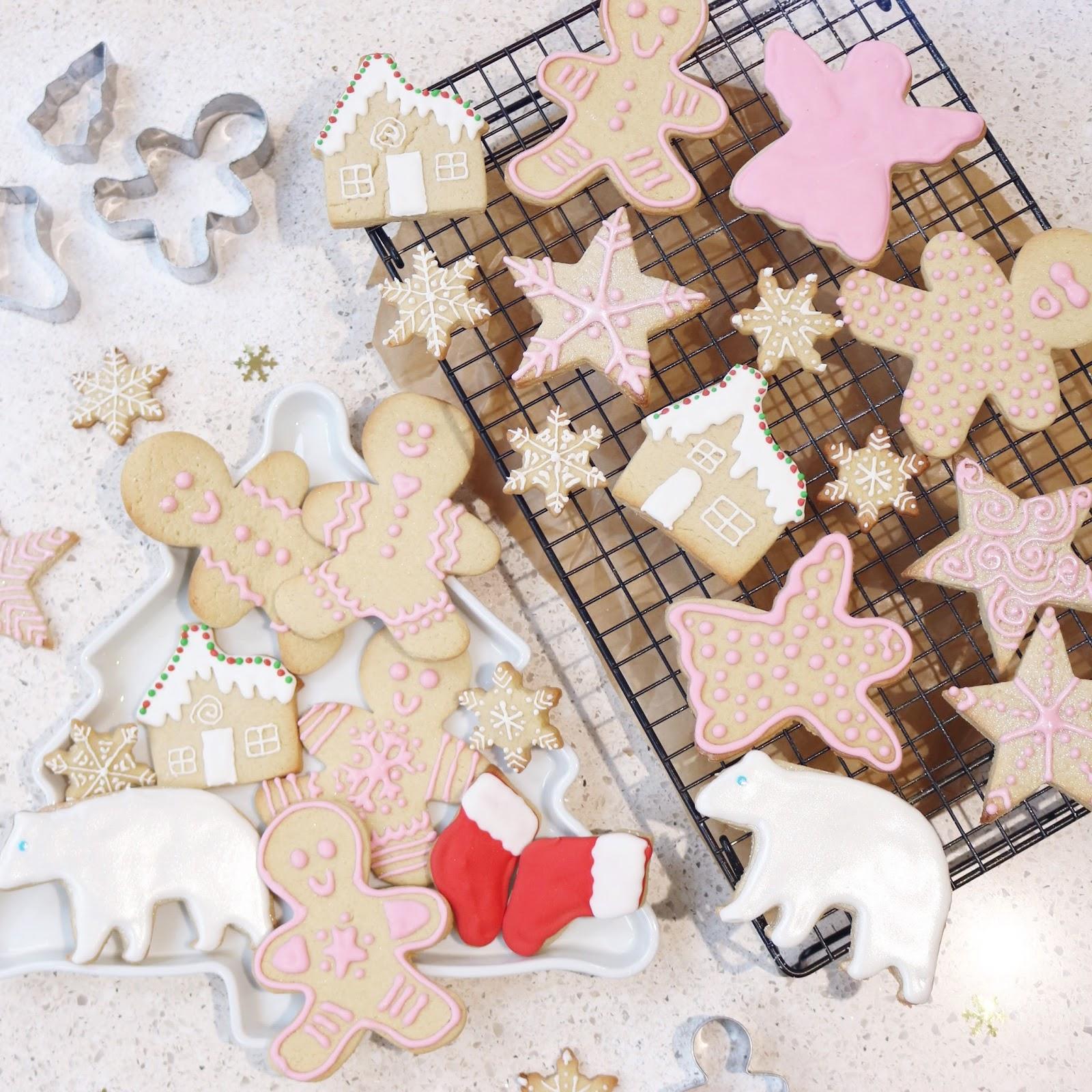Vegan Vanilla Christmas Biscuits Calvirose