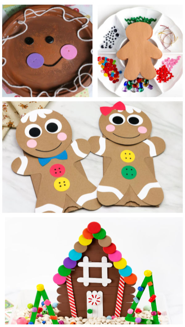 Gingerbread crafts & activities for kids including a recipe for gingerbread slime. #gingerbreadman #gingerbreadscience #gingerbreadscience #gingerbreadslimerecipe #gingerbreadmanslime #gingerbreadcrafts #gingerbreadactivitiesforpreschool #easygingerbreadslime #growingajeweledrose #activitiesforkids