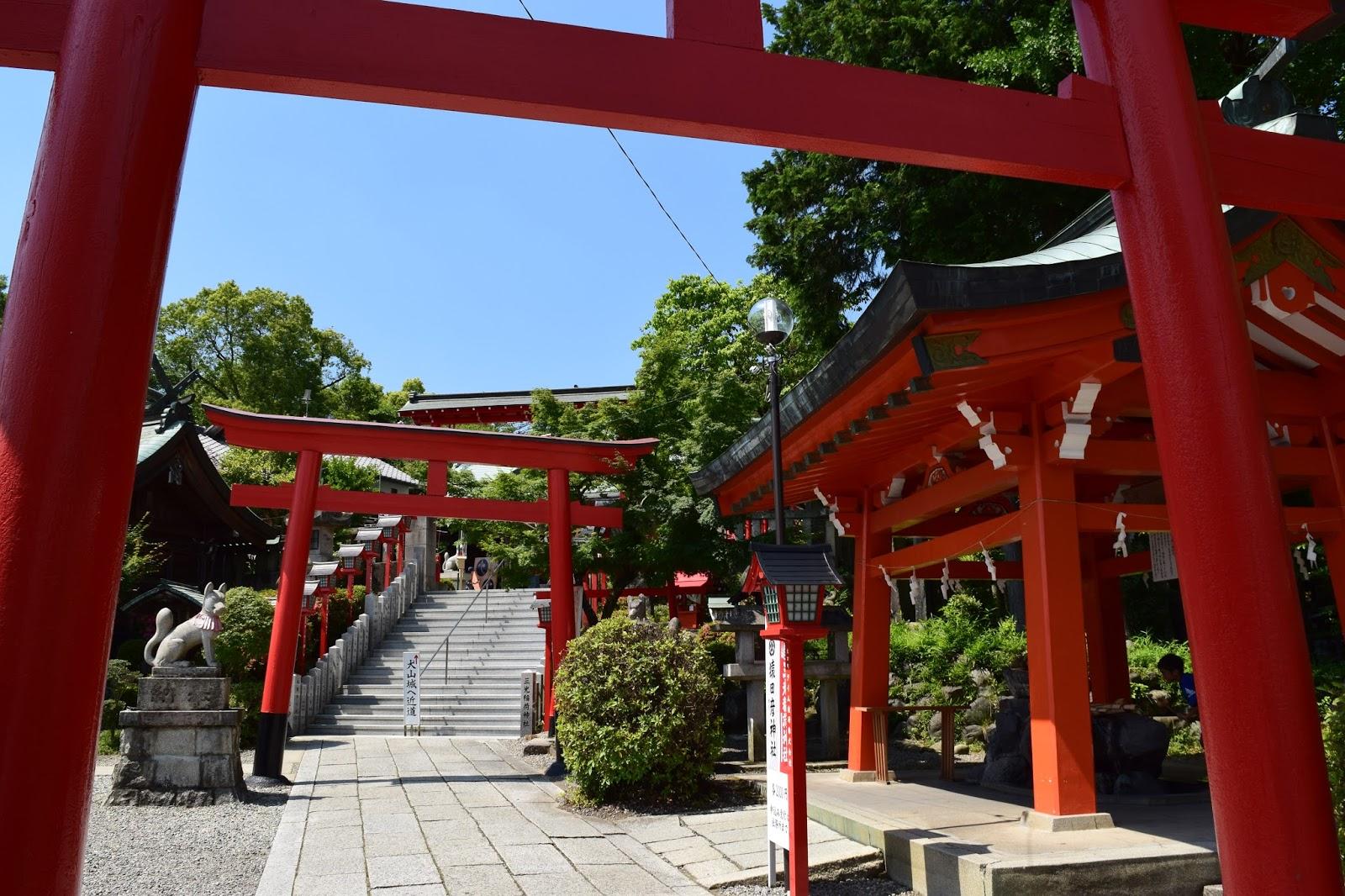 Sankou Inari Jinja Japan