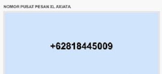 Nomor Pusat Pesan XL Terbaru