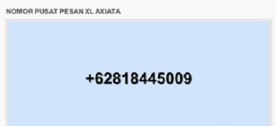 Nomor Pusat Pesan XL Terbaru & Cara Setting SMSC